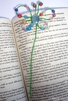 ';[/2How to make Butterfly Bead Bookmark - DIY Craft Project with instructions from Craftbits.com