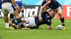BBC Sport - Rugby World Cup 2015: Samoa 33-36 Scotland