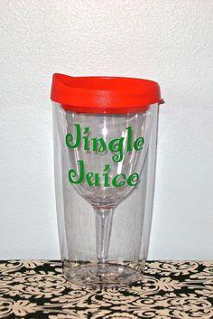 Personalized Vino2Go Tumbler Bridesmaid Tumbler by MadeByCRose, $13.50