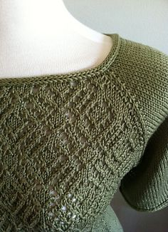 Ravelry: Galaxia Lace Top pattern by Vera Sanon