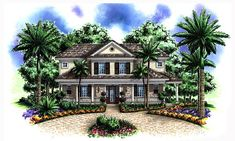 Traditional House Plan 60528 Elevation