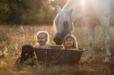 30 Beautiful Portraits Of Children And Animals That Capture The Magical Innocence Of Childhood.