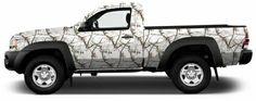 Premium Camo Compact Truck Wrap or Suv Kit