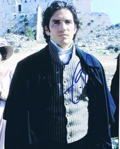James Caviezel - one of my fav actors - in the Count of Monte Cristo - my fav book of all time!