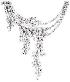 Collier or blanc diamant - Piaget Joaillerie G37LE400