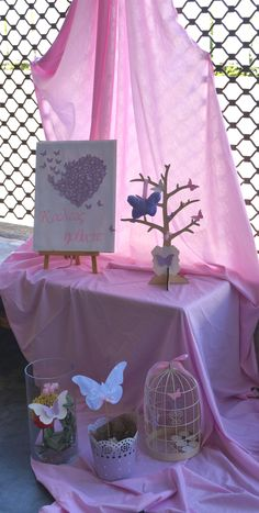 tokoutaki.gr Photos Booth, Baby Shower Themes, Christening, Bloom, Butterfly, Children, Party, Crafts, Wedding