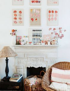 House Tour :: English Sensibilities Meet Northern California Style In One of My Favorite Homes - coco kelley coco kelley English meets Northern California style in an all-time favorite house tour featuring the design talents of Rita Konig and Gil Shafer. Wooden Lockers, Pink Tiles, Neutral Paint Colors, Parisian Apartment, Cottage, Shabby Chic Style, White Walls, Decoration, House Tours