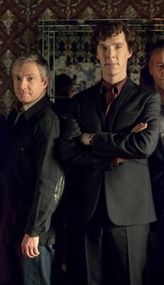 SHERLOCK (BBC) ~ Series/Season 3: Dr. John Watson( Martin Freeman) & Sherlock Holmes (Benedict Cumberbatch)