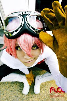 FLCL stance 2 haruko cosplay how cute