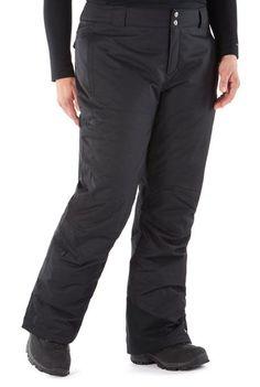 63e4015182 Black Snow Pants, Wishful Thinking, Pants For Women, Parachute Pants, Plus  Size