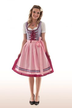 I loved the dirndl dresses with their aprons, and I was delighted to get one as a kid. My mother drew the line at my request for girl's Lederhosen. They had cute red heart-shaped pockets, and it made me mad that mom wouldn't budge.