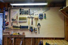 Custom Tool Wall