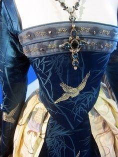 Royal attire, exquisite work.