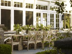 Wonderful al fresco living Outdoor Rooms, Outdoor Dining, Outdoor Gardens, Outdoor Furniture Sets, Outdoor Decor, Outdoor Patios, Outdoor Ideas, Backyard Ideas, Outside Room