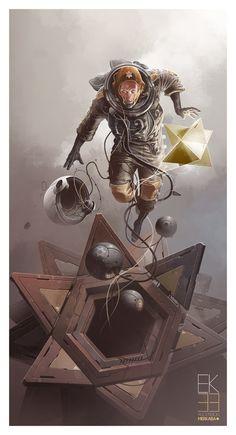 Character Art by Derek Stenning