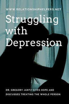 Depressed?  There is hope!  Learn from Dr. Gregory Jantz as he discusses how to treat the WHOLE person with HOPE!