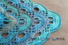 German Scalloped Triangle Shawl