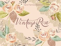 Enjoyable Clip art and DIY Ideas Vintage Roses, Vintage Walls, White Roses, Pink Roses, Homemade Reed Diffuser, Rose Clipart, Chocolate Roses, Pink Daisy, Watercolor Rose