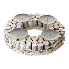 Parlane Ring Candle Holder, Natural