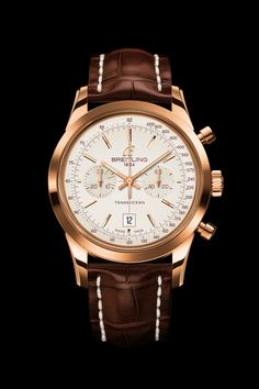 TRANSOCEAN CHRONOGRAPH 38 - First-class femininity. A tribute to the spirit of travel to distant lands aboard luxurious longhaul airliners, the Breitling Transocean welcomes a brand-new chronograph for women endowed with a distinctive blend of character and elegance.