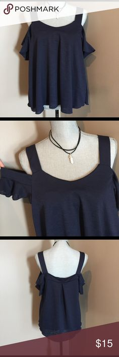 Off shoulder top Super adorable with shoulder strap and off shoulder strap. Comfy material makes it great to dress up or down. A must have for summer persaya Tops Tank Tops