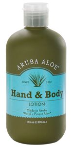 Aruba Aloe Hand & Body Lotion  Amazing products....