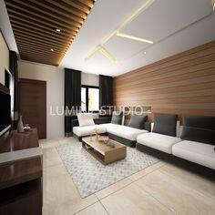 Recent modern living area is designed by Luminie Studio. Get a free quote now Call/Whatsapp: +91 7030922070 Email: info@luminiestudio.com Visit: www.luminiestudio.com #luminiestudio #3dsmax #3ds #vray #bathroomdecor #bathroominterior #interiordesign #luxury Wooden Ceiling Design, Kitchen Ceiling Design, House Ceiling Design, Ceiling Design Living Room, Bedroom False Ceiling Design, Living Room Interior, Living Room Designs India, Flat Interior Design, Drawing Room Interior