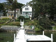 Fully Updated Victorian Lakefront Home With Pier for Boating and SwimmingVacation Rental in Delavan from @homeaway! #vacation #rental #travel #homeaway