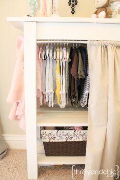 65 Trendy ideas baby nursery closet diy dress up Small Baby Nursery, Baby Nursery Closet, Portable Wardrobe, Portable Closet, Baby Closet Storage, Baby Diy Projects, Diy Furniture, New Baby Products, Diy Baby