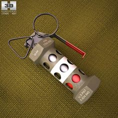 M84 Stun Grenade 3d model from humster3d.com. Price: $25