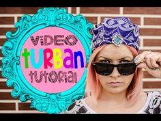 DIY: Cum sa faci un turban - Tutorial - YouTube