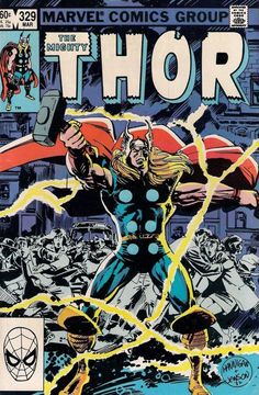 THOR # 329 MARVEL COMICS 1983 vf