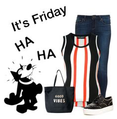 """""""It's Friday  :)"""" by nightowl59 ❤ liked on Polyvore featuring Paige Denim, Dolce&Gabbana, Ash and Venus"""