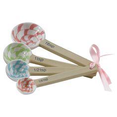 4-Piece Lollipop Measuring Spoon Set