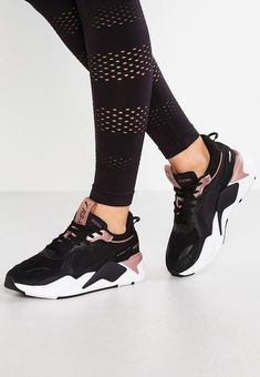 Puma RS X TROPHY shoes – Low trainers – black / rose gold noir: € at Zalando (at Free delivery and returns and free customer service on 0800 915 Source by Mens Puma Shoes, Puma Sneakers, Shoes Sneakers, Shoes Heels, Running Sneakers, Running Shoes, High Heels, Cute Shoes, Me Too Shoes