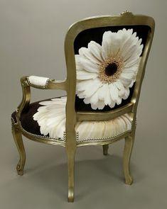 Selvage Blog: Elegant Daisy Chair