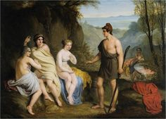 Paridův soud (Judgement of Paris) - Austrian school