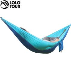 Outdoor Furniture Painstaking Large Size Double Hammock For Backpacking Camping Swing Hammock Outdoor Garden Relax Sleeping Hanging Bed Hamak Furniture