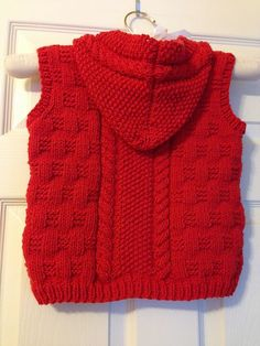 Diy Crafts - Ravelry: Project Gallery for 13 - Child's fancy rib and cable blouson - No pattern by Phildar Design Team Baby Knitting Patterns, Crochet Vest Pattern, Hoodie Pattern, Knitting For Kids, Knitting Designs, Baby Patterns, Free Pattern, Toddler Sweater, Knit Baby Sweaters