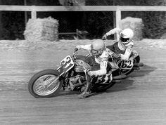 1974 Ascot, CA 1/2 mile, Rex Beauchamp #31 and Corky Keener #62.