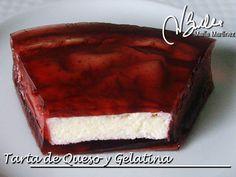Tarta Dukan de queso y gelatina de fruta roja (fase Ataque) / Dukan Diet Strawberry Cheesecake High Protein Recipes, Protein Foods, Healthy Recipes, Diet Recipes, Recipies, Dukan Diet, Low Carb Diet, Strawberry Cheesecake, Calories