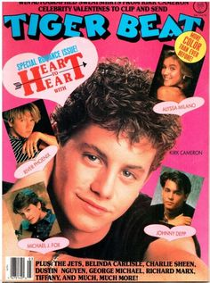 Image result for 80s tiger beat
