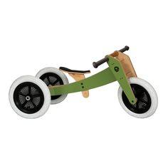 Wishbone Bike Gloss Green 3 in 1
