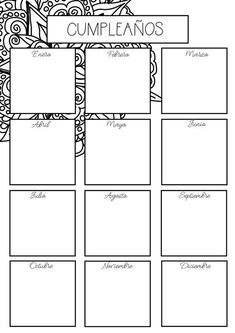 Printable Coloring Mandalas Undated Perpetual Planner Bullet Journal Pages Bujo Habit Tracker Year in Pixel Monthly Daily Schedule Bullet Journal School, Bullet Journal Ideas Pages, Bullet Journal Inspiration, Journal Pages, Draps Design, Year In Pixels, Bullet Journel, Bullet Journal Printables, To Color