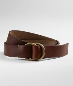 Handsewn O-Ring Belt, Men's