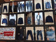 shop window levis - Google zoeken
