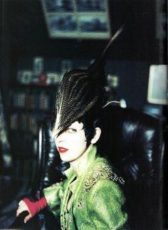 Isabella Blow, Vogue Italia, March 1997.