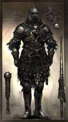 ::it is clear that this armour is not designed to comfort. art by Vance Kovacs::    Visit the post for more.