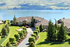 """Impeccable $1.09 Million Custom #Waterfront Home - Lake Chelan, WA. If You're Consider A Move To """"Evergreen State,"""" My #GenBlue Contacts Would Be Happy To Help You and Together We Can Discover There's No Place Like Home!  -Coldwell Banker"""