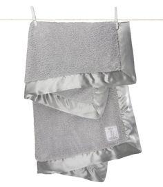 "Amazon.com: Little Giraffe Chenille Blanket, 29"" X 35"", Blue: Baby"